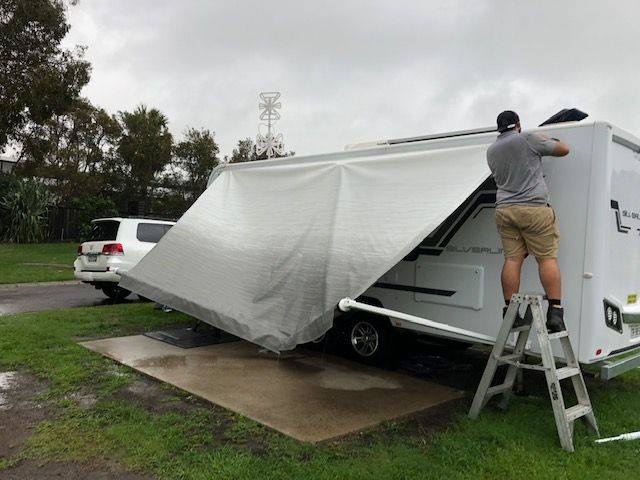 caravan rv awning repair Sunshine Coast