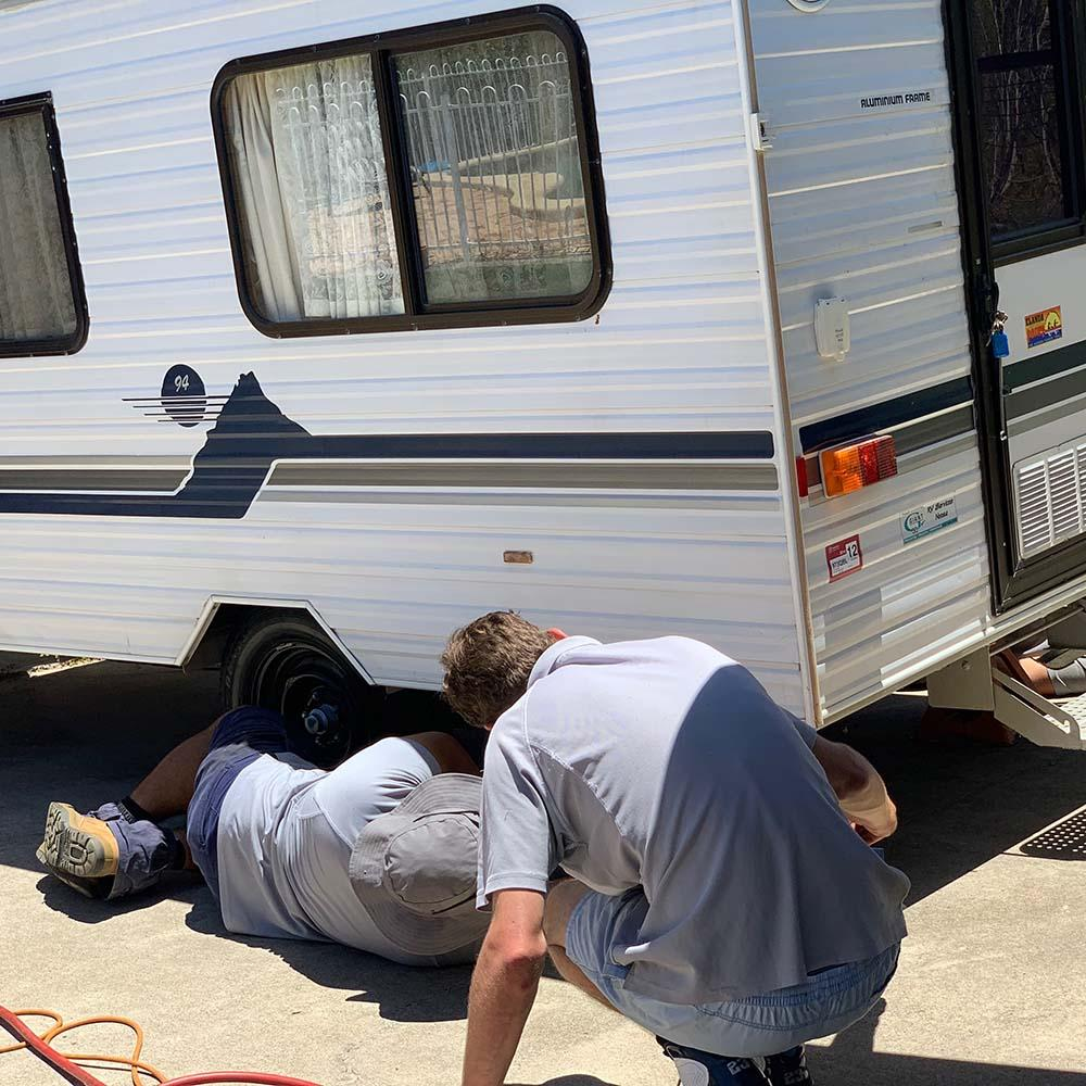 Caravan Axle Servicing Sunshine Coast