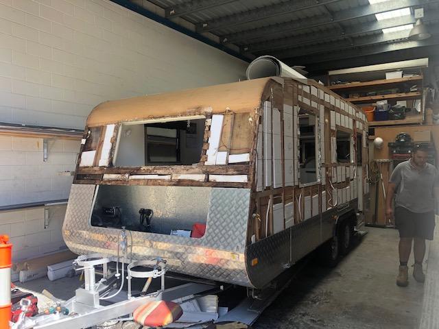Caravan Cladding Repairs Sunshine Coast