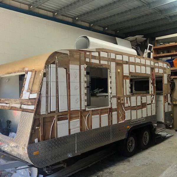 Caravan Recladding service Sunshine Coast