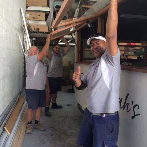 Caravan Repair Service Team