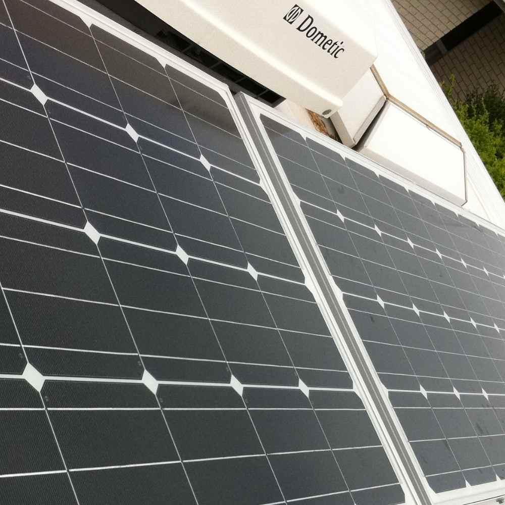 Caravan solar advice
