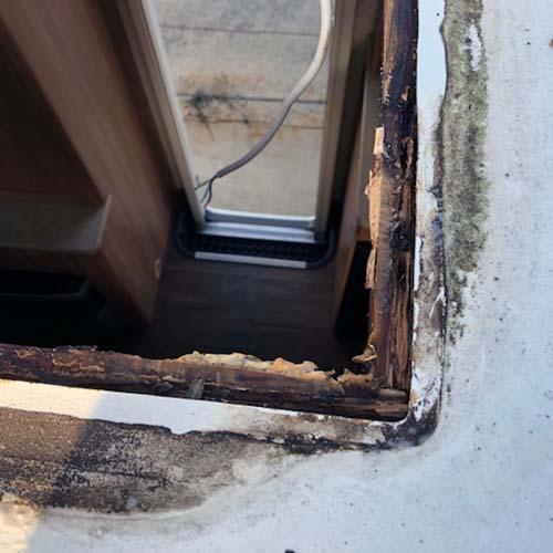 Caravan Water Damage Repair