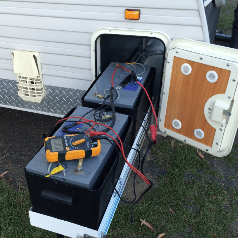 Sunshine Coast Caravan Repair - battery care advice